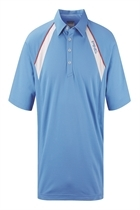 Picture of Ping Collection Miro Polo Shirt - Ocean Blue/White