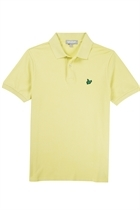 Picture of Lyle and Scott Green Eagle Pique Polo - Fruit