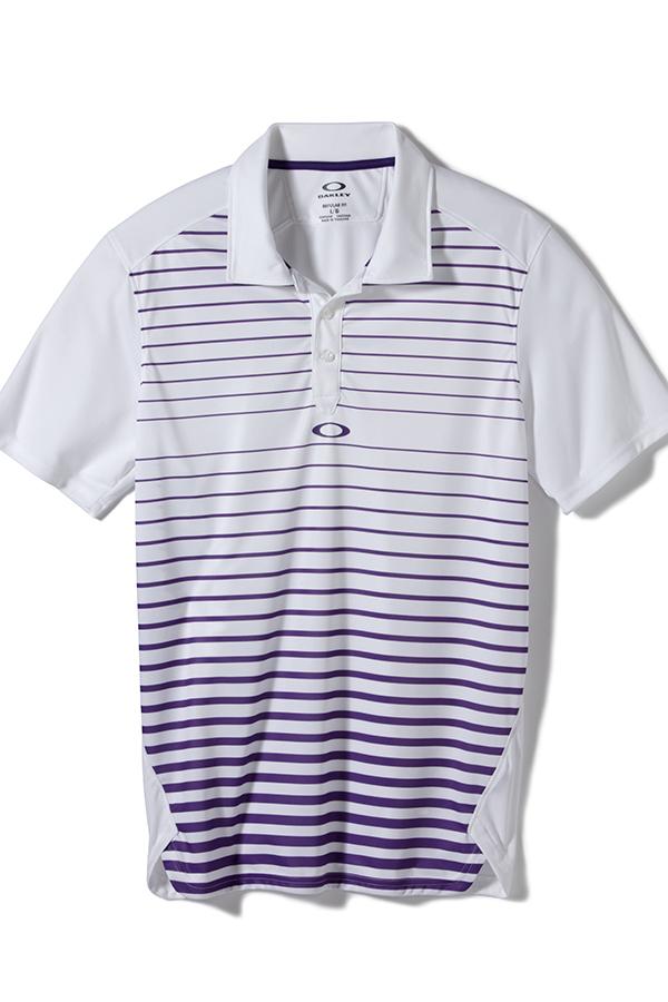 Oakley gamer polo shirt royal purple ladies and mens for Royal purple mens dress shirts