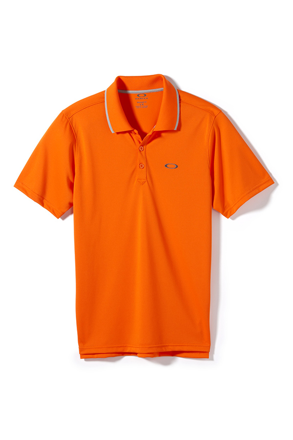 Picture of Oakley Standard Polo Shirt - Red Orange
