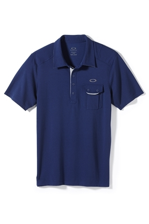 Picture of Oakley Must Have Polo Shirt - Blue Depths