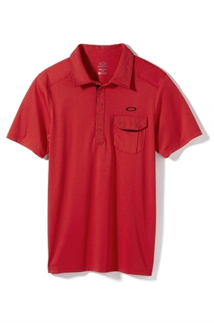 Picture of Oakley Must Have Polo Shirt - Red Line