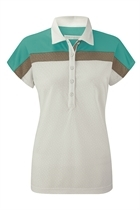 Picture of Ping Collection Betsy Polo Shirt - White/Spearmint