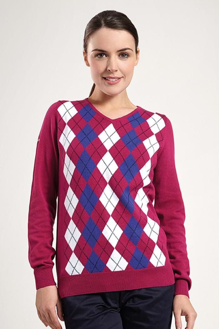 Picture of Glenmuir NOPIC Ladies Lois Sweater - Vegas
