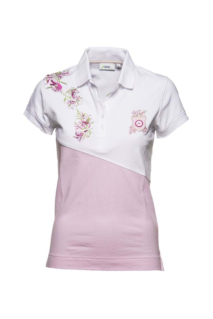 Picture of Daily Sports ZNS Harmony Short Sleeved Polo Shirt - Rose- LAST ONE S