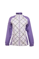 Picture of Ping Collection Cupcake Waterproof Jacket - White/Violet Multi