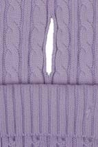 Picture of Green Lamb NOPIC Bella Cable Scarf - Orchid