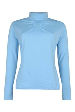 Picture of Green Lamb zns Rita Tech Roll Neck - Blue