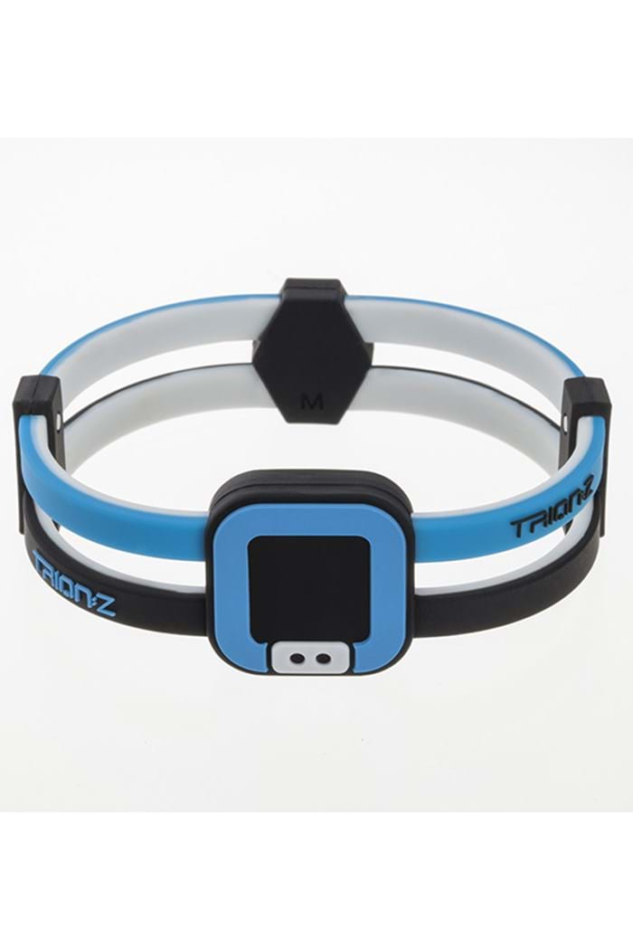 Picture of Trionz Duo Loop Magnetic Health Bracelet - Azure/Black