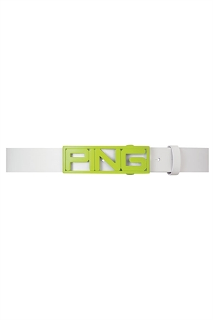 Picture of Ping Collection Logo Belt - Green/White
