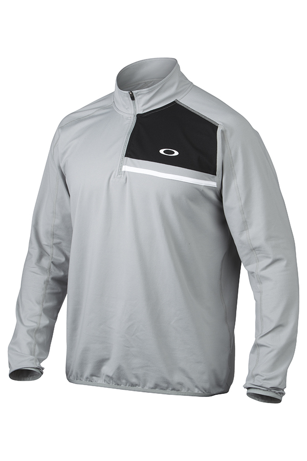 Picture of Oakley Curran 1/4 Zip Pullover - Stone Gray