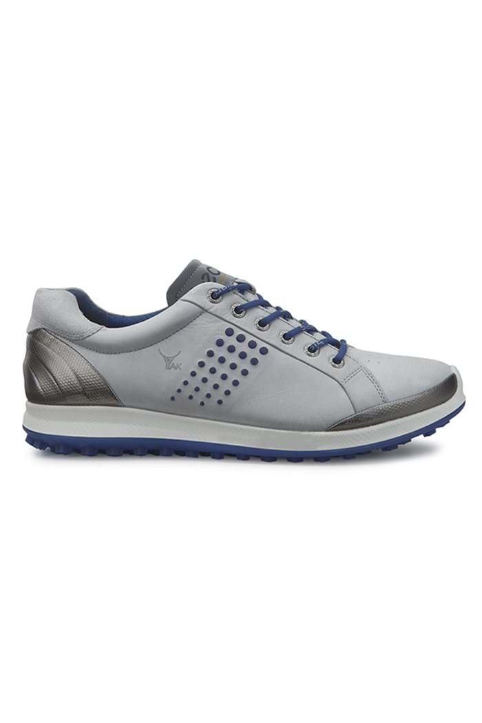 Picture of ECCO ZNS Men's Golf Biom Hybrid 2 Golf Shoes - Concrete/Royal