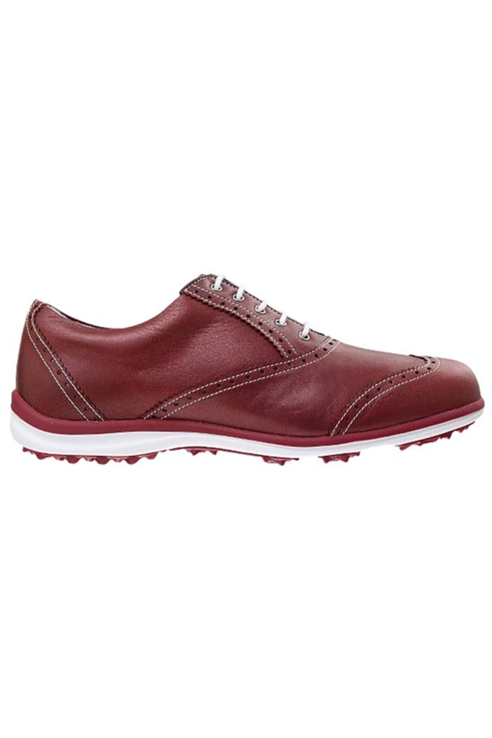 Picture of Footjoy ZNS Ladies LoPro Casual Golf Shoes - Red/Grey