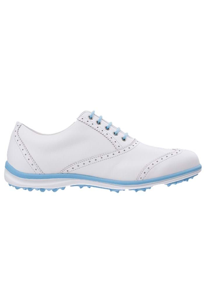 Picture of Footjoy NOPIC Ladies LoPro Casual Golf Shoes - White/Blue