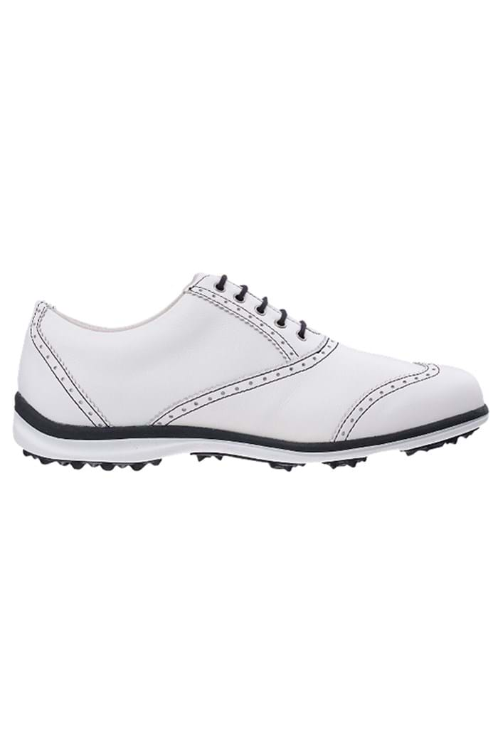 Picture of Footjoy ZNS Ladies LoPro Casual Golf Shoes - White/Black