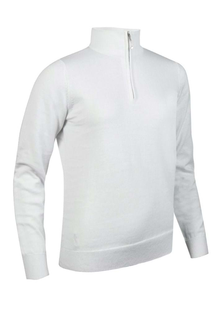 Picture of Glenmuir ZNS Ava Zip Neck Sweater - White