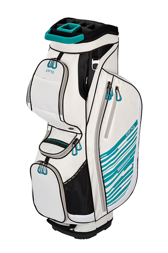 promo codes cheap for sale new release Ping ZNS Rhapsody Cart Bag - White/Trophical