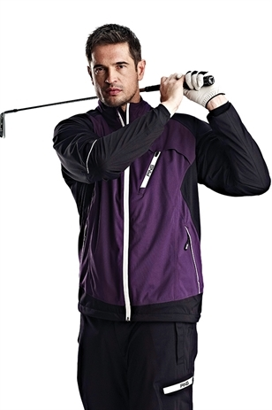 Picture of Ping Response Lined Waterproof Jacket - Purple/Black