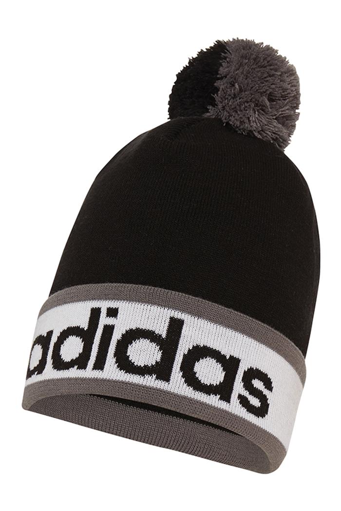 Picture of Adidas ZNS Climaheat Pom Beanie - Black White Vista Grey 41756925bce