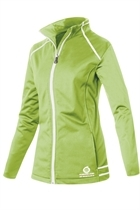 Picture of Sunderland of Scotland Annapurna Bonded Fleece Jacket - Appletini/White