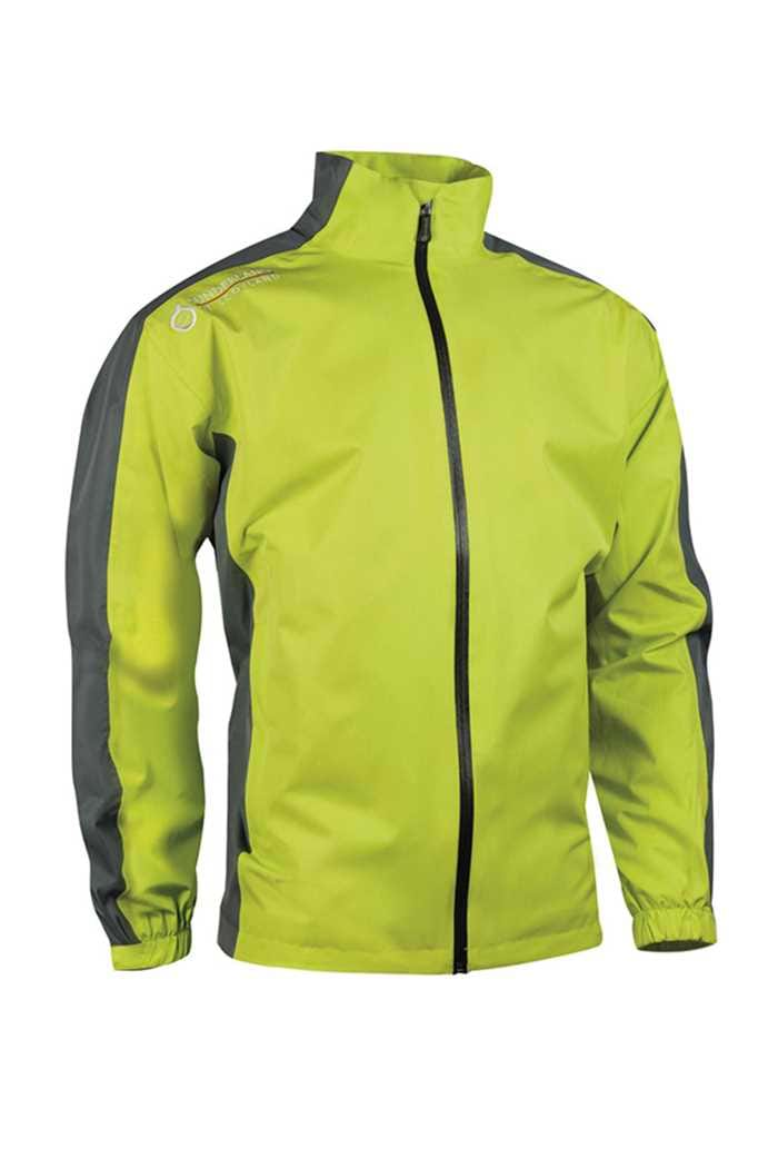 Picture of Sunderland of Scotland zns  Vancouver Waterproof Jacket - Lime/Gunmetal/White