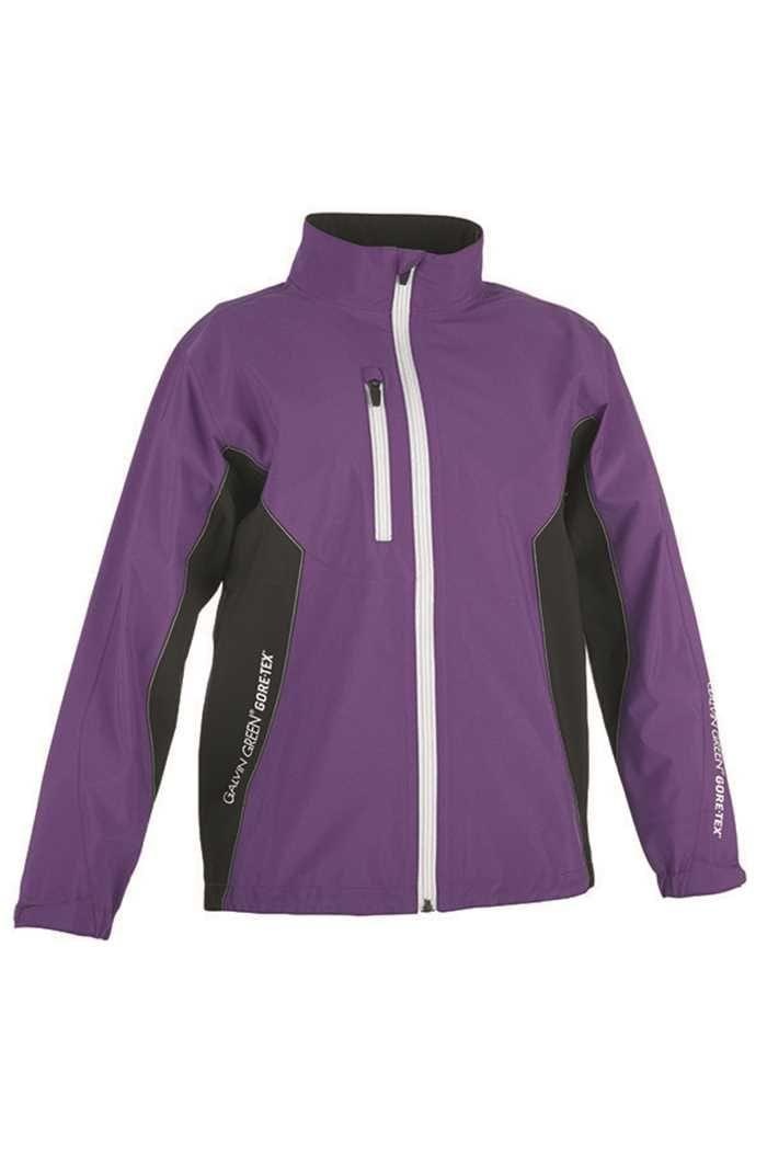 Picture of Galvin Green ZNS Junior Richie Paclite Jacket - Purple/Black/White