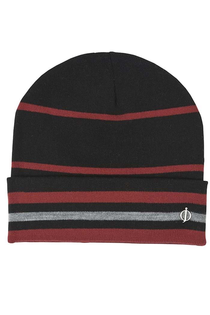 Oscar Jacobson ZNS Beanie Hat - Black   Red   Grey - Oscar Jacobson ... 8d48b6844e1