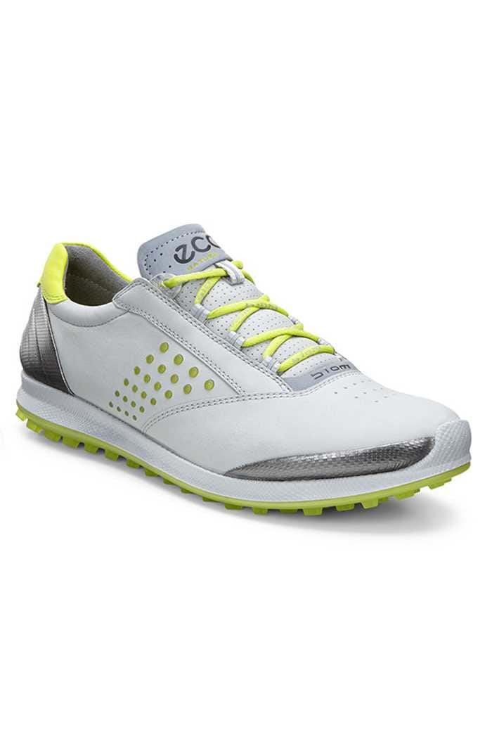 Picture of Ecco zns Ladies Biom Hybrid 2 Golf Shoes - Concrete/Lime