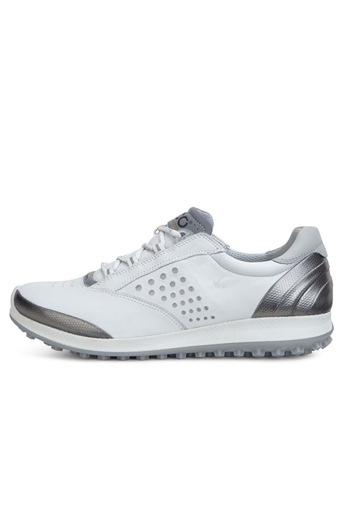b65e34ee595e Picture of Ecco Ladies ZNS Biom Hybrid 2 Golf Shoes - White Buffed Silver -