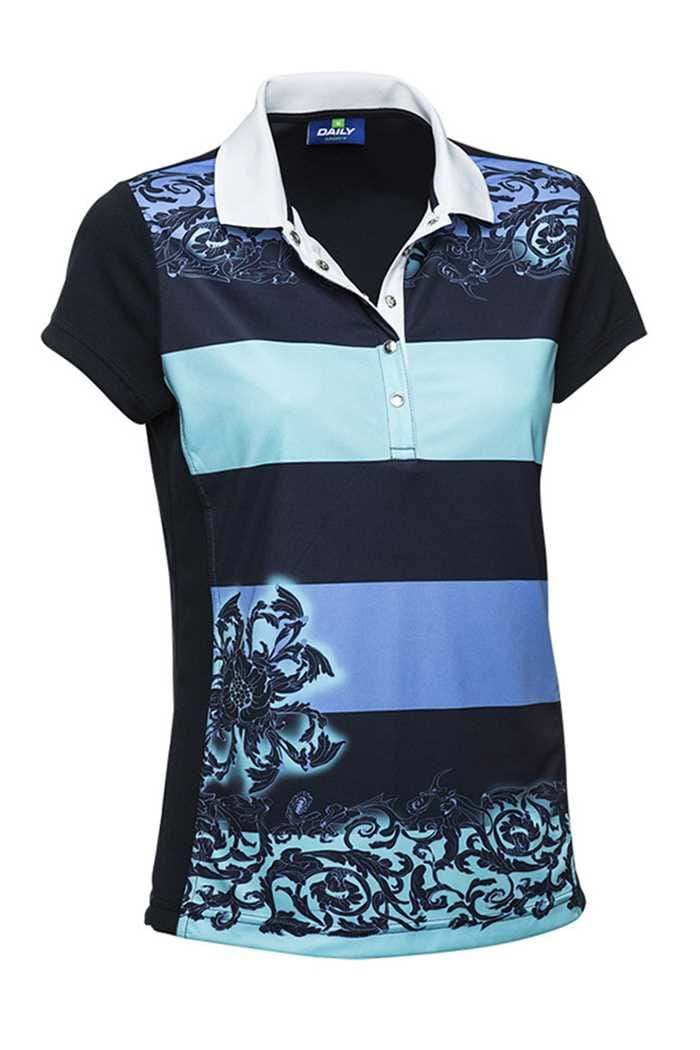 Picture of Daily Sports zns  Corinne Polo Shirt - Navy - LAST ONE XS