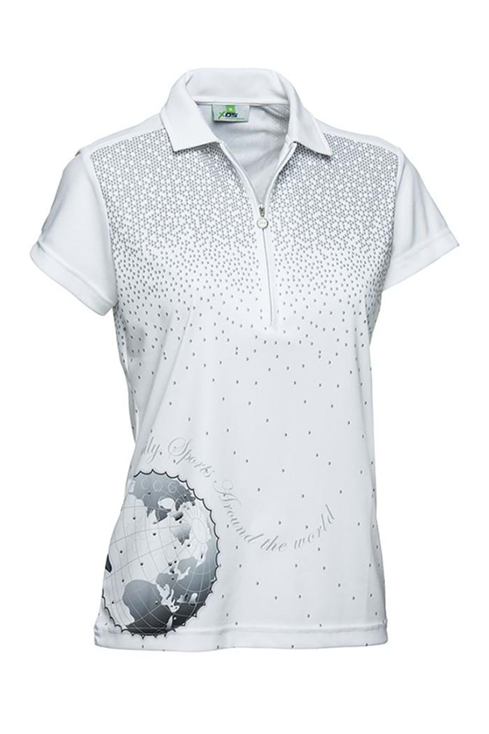 Picture of Daily Sports ZNS NOPIC Ethel Polo Shirt - White - LAST ONE XS
