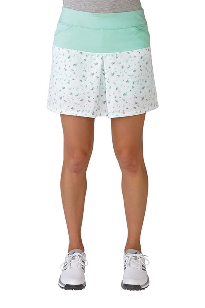 Picture of Adidas ZNS Tour Mixed Print Pull on Skort - Mint Burst