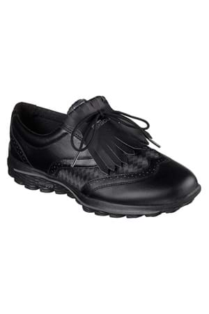 Picture of Skechers Go Golf Kiltie - Black / Grey