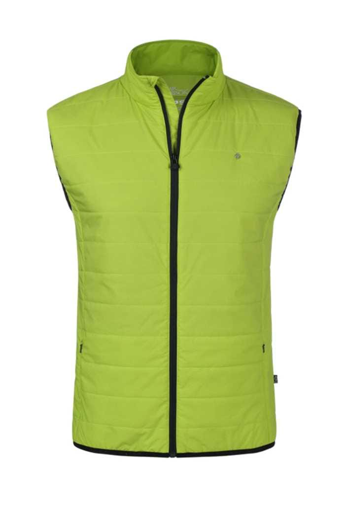 Picture of Oscar Jacobson zns Marcel Vest - Lime