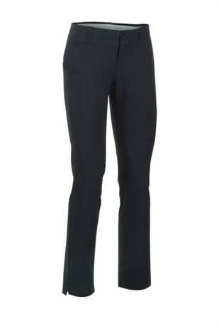 "Picture of Under Armour Links Trousers - Black 29"" leg"