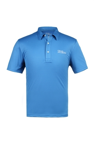 Picture of Oscar Jacobson Collin Tour Poloshirt - Sport Blue (LAST ONE)