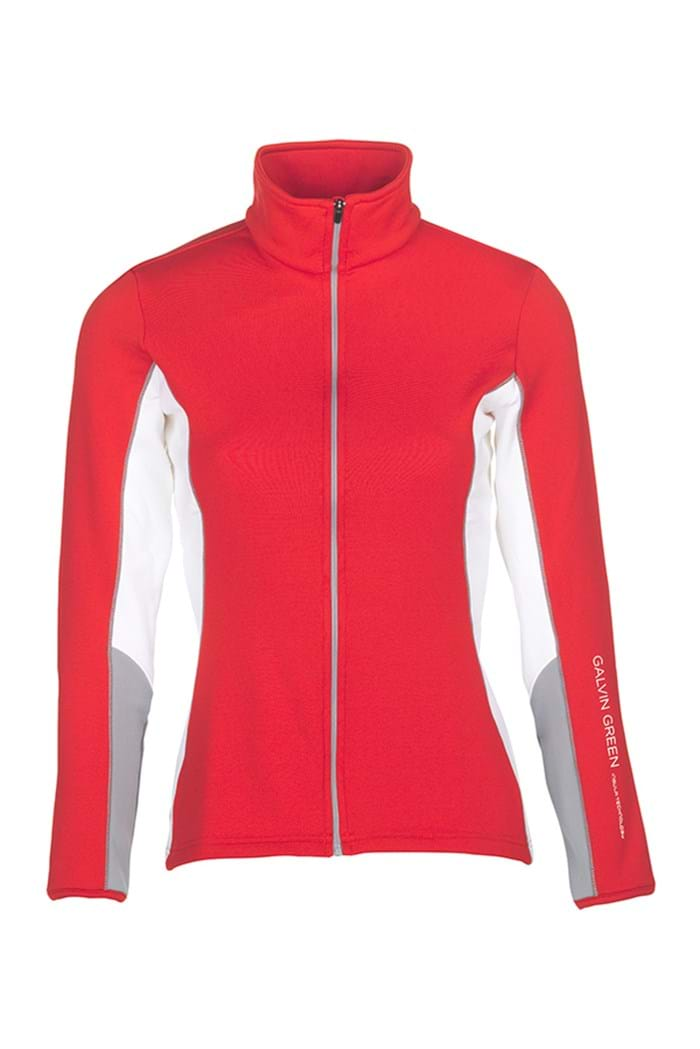 Picture of Galvin Green zns Diana Insula Jacket - Lipgloss Red/Steel/White