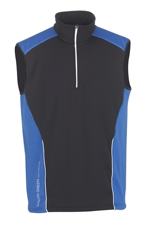 Picture of Galvin Green Dillon Insula Slipover - Black/Imperial Blue