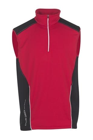 Picture of Galvin Green Dillon Insula Slipover - Electric Red/Black