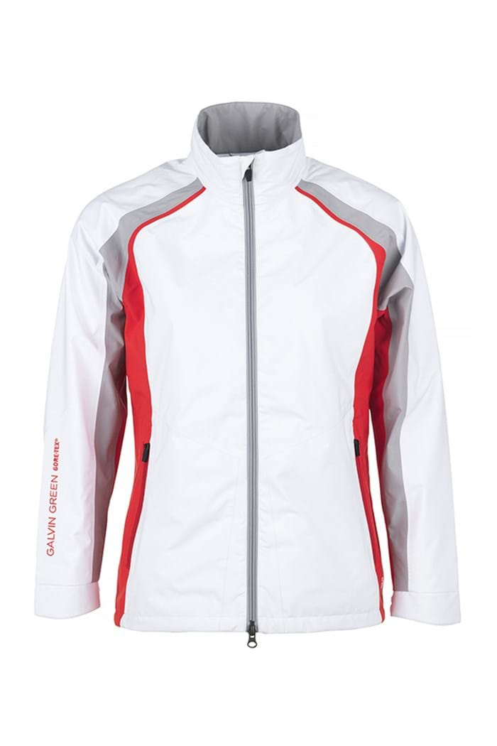 Picture of Galvin Green ZNS Amber GTX Jacket - White/Lipgloss Red/Steel