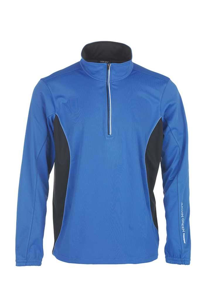 Picture of Galvin Green ZNS Brad 1/2 Zip Windstopper - Imperial Blue/Black