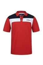 Picture of Oscar Jacobson Kay Tour Polo Shirt - Red
