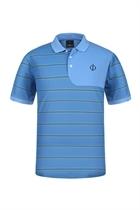 Picture of Oscar Jacobson Lyndon Polo Shirt - Sky Blue