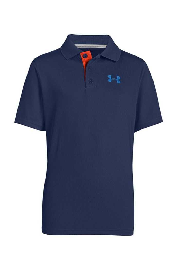 Picture of Under Armour zns UA Matchplay Junior Polo Shirt - Midnight