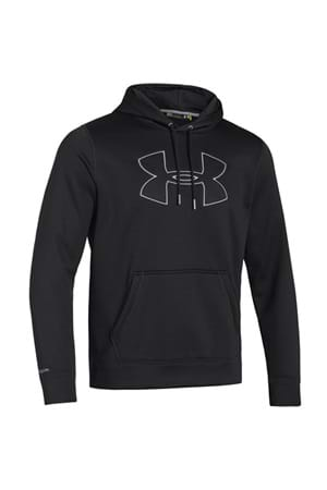 Picture of Under Armour NOPIC UA Storm Big Logo Hoodie - Black/Steel