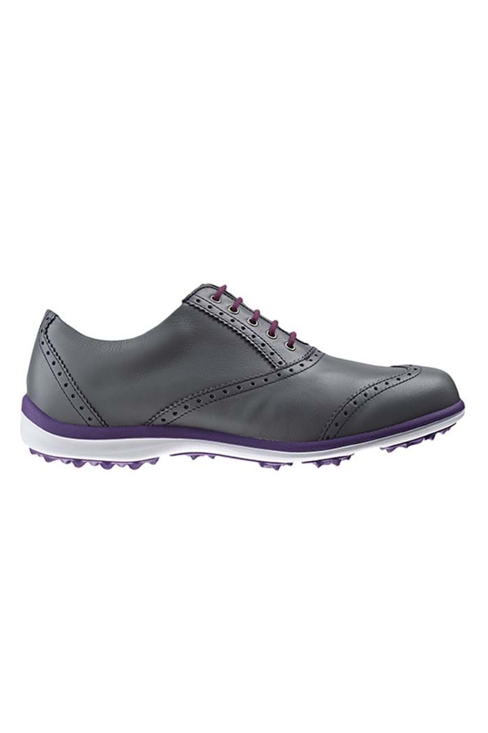Picture of Footjoy NOPIC Ladies Casual Collection Golf Shoes - Pewter/Purple