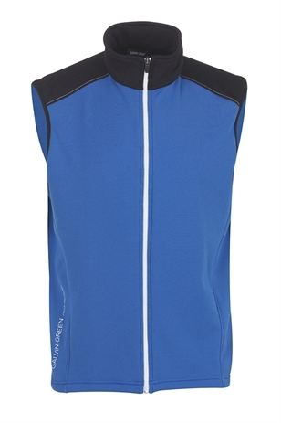 Picture of Galvin Green Denver Bodywarmer - Imperial Blue/Black