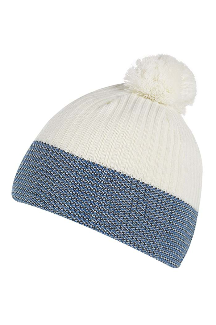 Picture of Galvin Green ZNS Bobble Hat - White/Imperial Blue/Steel
