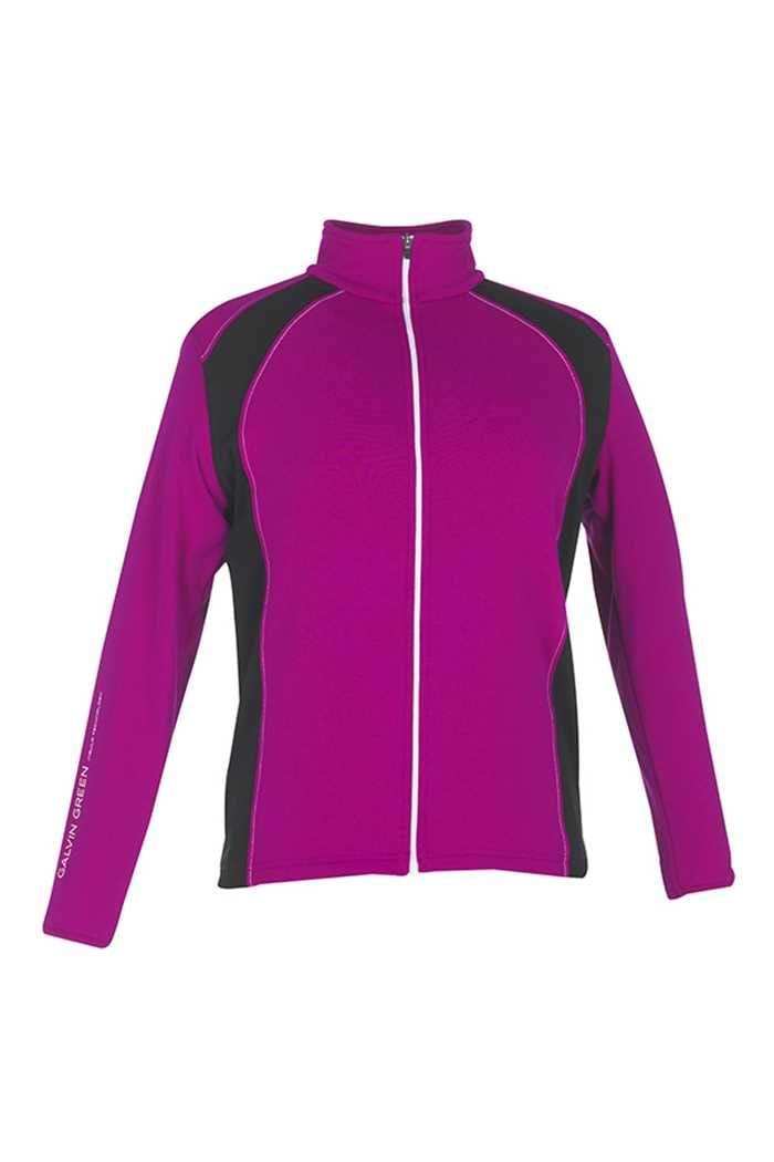 Picture of Galvin Green zns  Junior Rex Insula Sweater/Jacket - Purple Rain/Black/White