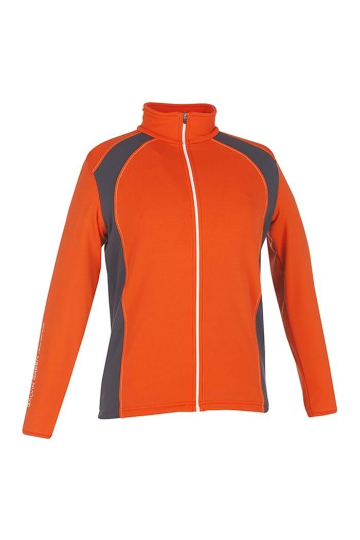 Picture of Galvin Green zns Junior Rex Insula Sweater/Jacket- Spicy Orange/Grey